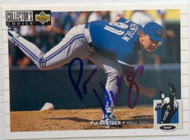 Pat Hentgen Autographed 1994 Collectors Choice #133