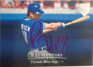 Pat Hentgen Autographed 1995 Upper Deck Electric Diamond #37