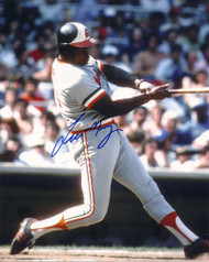 Lee May Autographed Orioles 8 x 10 Photo