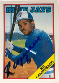 Sil Campusano Autographed 1988 Topps Traded #24T