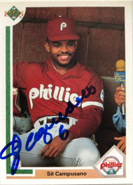 Sil Campusano Autographed 1991 Upper Deck #469