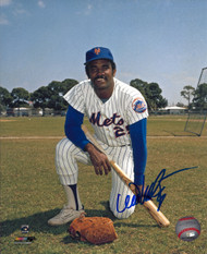 Willie Montanez Autographed Mets 8 x 10 Photo