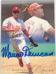 Mariano Duncan Autographed 1993 Flair #98