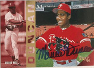 Mariano Duncan Autographed 1994 Score Select #271