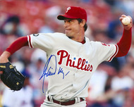 Jamie Moyer Autographed Phillies 8 x 10 Photo