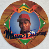 Mariano Duncan Autographed 1995 King B Discs #6