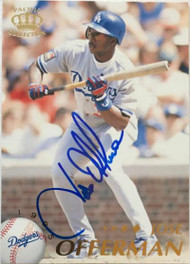Jose Offerman Autographed 1995 Pacific #223