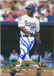 Jose Offerman Autographed 1998 Pacific #109