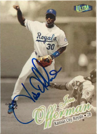 Jose Offerman Autographed 1998 Fleer Ultra Gold Medallion #363