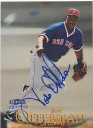 Jose Offerman Autographed 1999 Fleer Brilliants #59