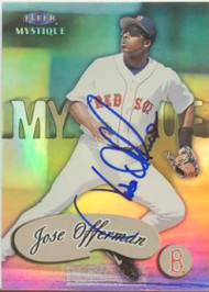 Jose Offerman Autographed 1999 Fleer Mystique #65