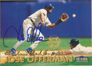 Jose Offerman Autographed 1999 Fleer Tradition #302