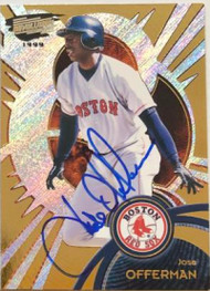 Jose Offerman Autographed 1999 Pacific Revolution #27