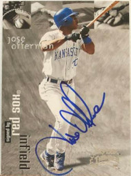 Jose Offerman Autographed 1999 Skybox Thunder #126