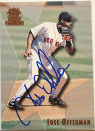 Jose Offerman Autographed 1999 Topps Stars #134