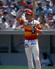 Terry Puhl Autographed Astros 8 x 10 Photo 3