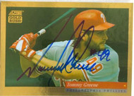 Tommy Greene Autographed 1994 Score Gold Rush #380