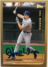 Hal Morris Autographed 1999 Topps #349