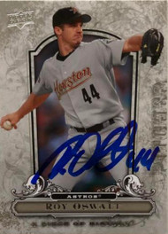 Roy Oswalt Autographed 2008 Upper Deck A Piece of History #41