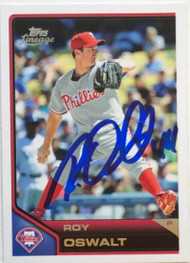 Roy Oswalt Autographed 2011 Topps Lineage #93