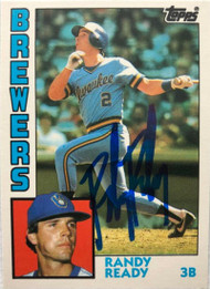 Randy Ready Autographed 1984 Topps Traded #97T