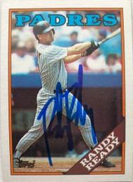 Randy Ready Autographed 1988 Topps #426