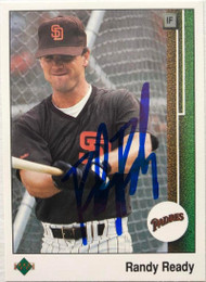 Randy Ready Autographed 1989 Upper Deck #474