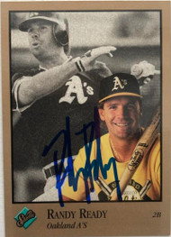 Randy Ready Autographed 1992 Studio #228