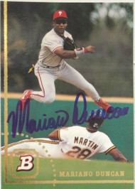 Mariano Duncan Autographed 1994 Bowman #196