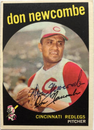Don Newcombe Autographed 1959 Topps #312