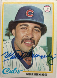 Willie Hernandez Autographed 1978 Topps #99 Rookie Card