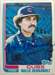 Willie Hernandez Autographed 1982 Topps #23