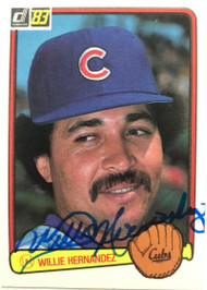 Willie Hernandez Autographed 1983 Donruss #174