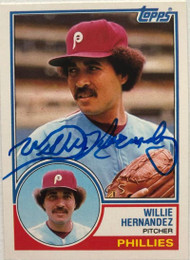 Willie Hernandez Autographed 1983 Topps Traded #45T