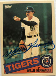 Willie Hernandez Autographed 1985 Topps Tiffany #333