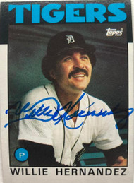 Willie Hernandez Autographed 1986 Topps #670