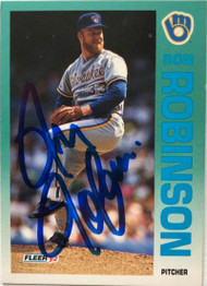 Ron Robinson Autographed 1992 Fleer #187