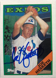 Joe Hesketh Autographed 1988 Topps #371