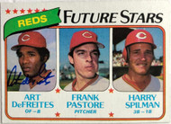 Art DeFreites Autographed 1980 Topps #677 Rookie Card