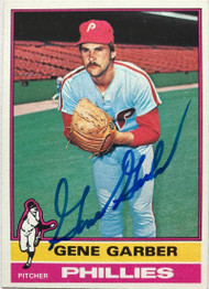 Gene Garber Autographed 1976 Topps #14