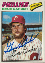 Gene Garber Autographed 1977 Topps #289