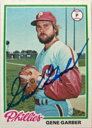 Gene Garber Autographed 1978 Topps #177
