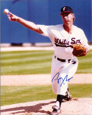 Bobby Thigpen Autographed White Sox 8 x 10 Photo 2