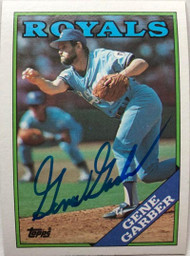 Gene Garber Autographed 1988 Topps #597