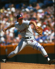 Bobby Thigpen Autographed White Sox 8 x 10 Photo 4