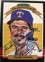 Frank Tanana Autographed 1985 Donruss #9 Diamond Kings