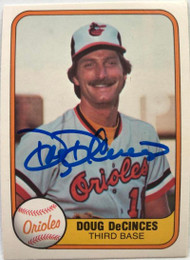 Doug DeCinces Autographed 1981 Fleer #173