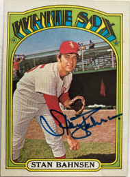 Stan Bahnsen Autographed 1972 Topps #662