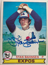 Stan Bahnsen Autographed 1979 Topps #468