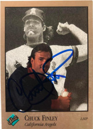 SOLD 7683 Chuck Finley Autographed 1992 Studio #145
